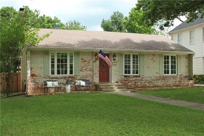 Single Family Home For Sale: 7439 Marquette Street