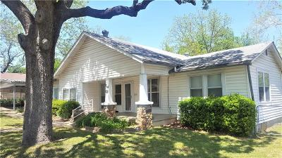 Weatherford Single Family Home For Sale: 714 W Ball Street