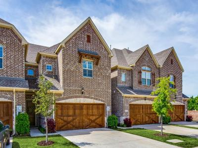 Lewisville Townhouse For Sale: 110 Preserve Place