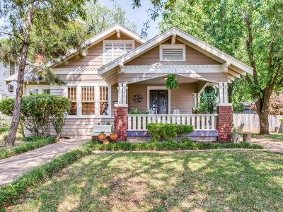 Dallas Single Family Home For Sale: 208 N Brighton Avenue