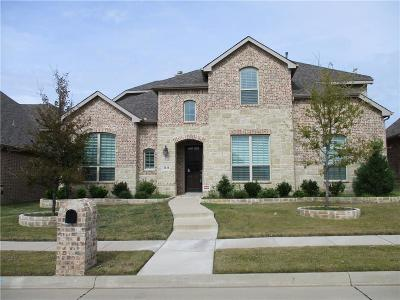 Sachse Single Family Home For Sale: 3111 Gentry Drive