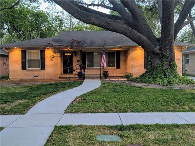 Dallas Single Family Home For Sale: 619 Blanning Drive