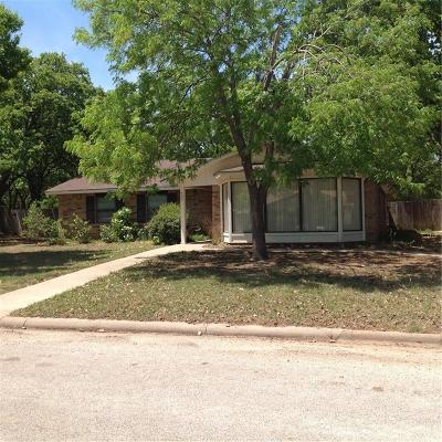 Eastland Single Family Home Active Option Contract: 405 Briarwood Drive