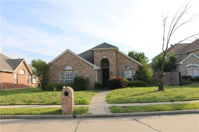Carrollton Single Family Home For Sale: 1517 Bastrop Drive