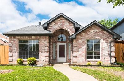 Rowlett Single Family Home Active Option Contract: 6910 Conestoga Drive
