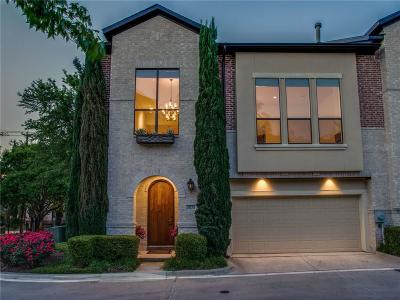 Dallas Townhouse For Sale: 3231 N Haskell Avenue