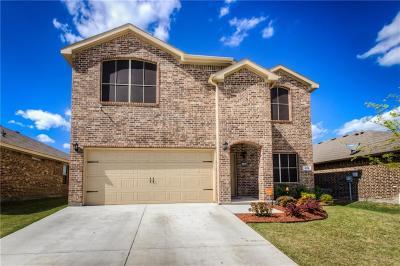 Azle Single Family Home For Sale: 636 River Rock Drive
