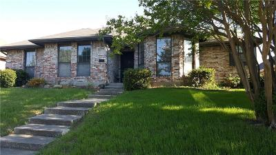 Carrollton Single Family Home For Sale: 1529 Ginger Drive