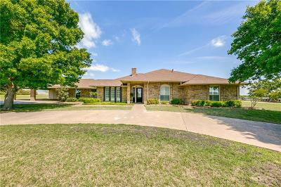 Waxahachie Single Family Home Active Option Contract: 105 Spring Creek Drive