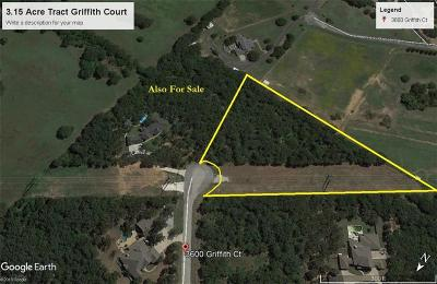 Residential Lots & Land For Sale: 3600 Griffith Court