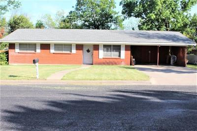 Stephenville Single Family Home For Sale: 1480 Melissa Drive