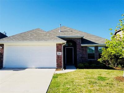 Fate Single Family Home Active Option Contract: 296 Blackhaw Drive