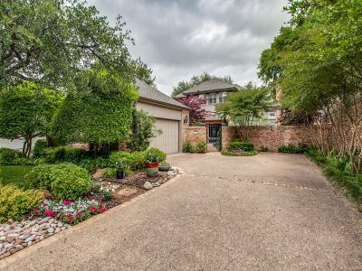 Dallas Single Family Home For Sale: 16031 Chalfont Circle