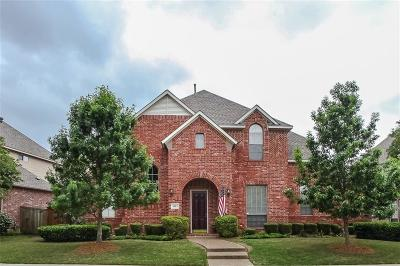 Allen Single Family Home Active Contingent: 1313 Salado Drive