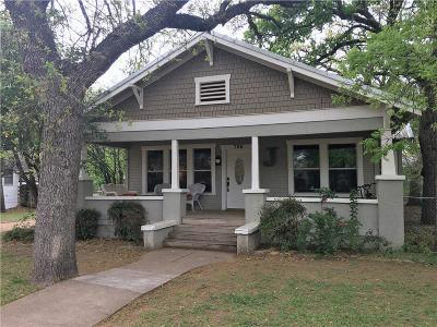 Cisco TX Single Family Home Active Contingent: $149,500