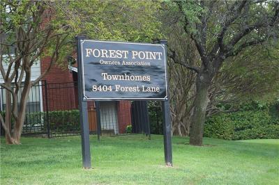 Dallas Condo For Sale: 8404 Forest Lane #504