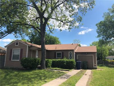 Garland Single Family Home For Sale: 1410 Davis Boulevard