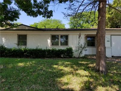Mesquite Single Family Home For Sale: 4301 Ridgedale Drive