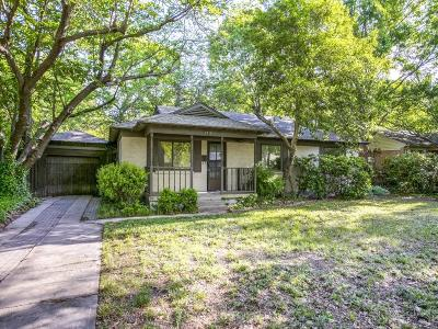 Dallas Single Family Home For Sale: 3715 La Joya Drive