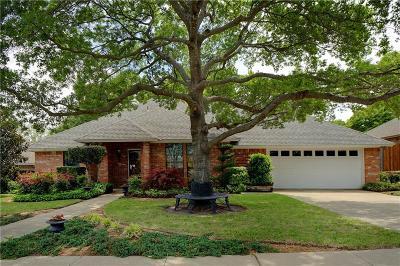 Benbrook Single Family Home Active Option Contract: 10009 Stoneleigh Drive