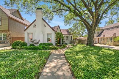 Fort Worth Single Family Home For Sale: 3351 Park Ridge Boulevard