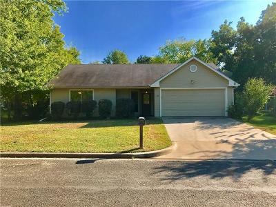 Canton TX Single Family Home For Sale: $161,500