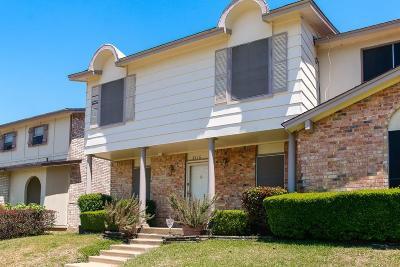 Arlington TX Townhouse For Sale: $94,900