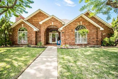 Plano Single Family Home Active Option Contract: 3705 Longbow Lane