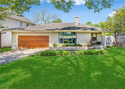 Dallas Single Family Home For Sale: 9039 Lanshire Drive