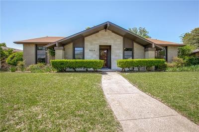 Single Family Home For Sale: 3609 Clover Meadow Drive