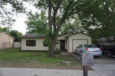 Arlington TX Single Family Home For Sale: $125,000