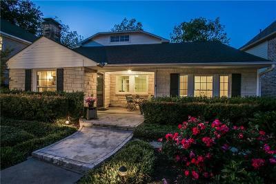 Dallas Single Family Home For Sale: 6255 Martel Avenue