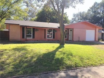 Richardson Single Family Home For Sale: 907 Warren Way