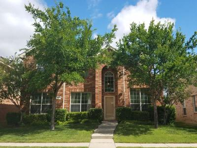 Allen Single Family Home For Sale: 1627 Mineral Springs Drive