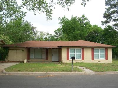 Stephenville Single Family Home Active Contingent: 1115 W Pecan Street