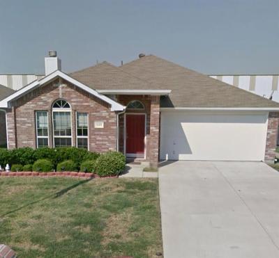 Royse City Single Family Home Active Option Contract: 1609 Sams Circle