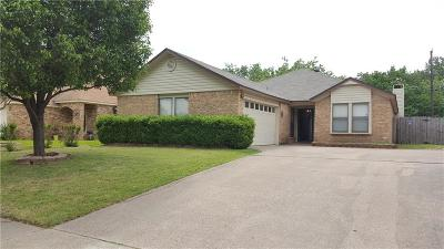 Irving Single Family Home Active Option Contract: 2300 Ruby Road