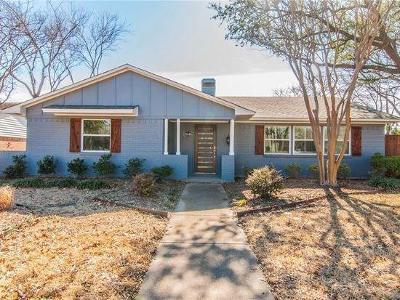 Dallas Single Family Home For Sale: 10606 Le Mans Drive