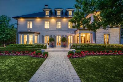 Dallas Single Family Home For Sale: 6346 Desco Drive