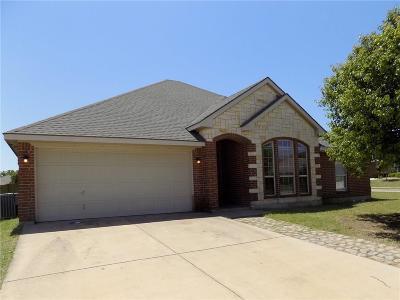 Azle Single Family Home For Sale: 500 Kriston Drive