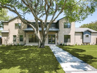 Dallas Single Family Home For Sale: 5327 Del Roy Drive