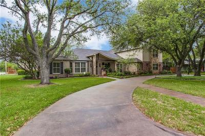 Single Family Home For Sale: 10407 Crestover Drive