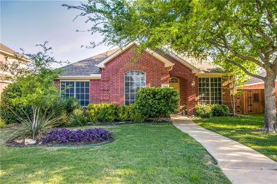 Frisco Single Family Home Active Contingent: 1550 Marble Falls Drive