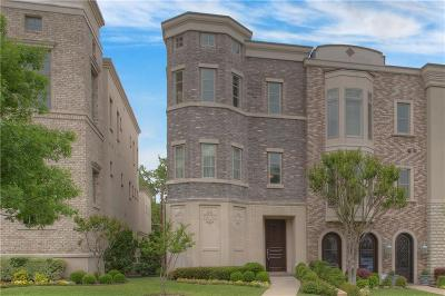 Fort Worth Townhouse For Sale: 4716 Dexter