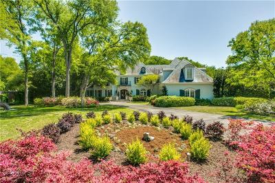 Dallas Single Family Home For Sale: 4222 Cochran Chapel Road