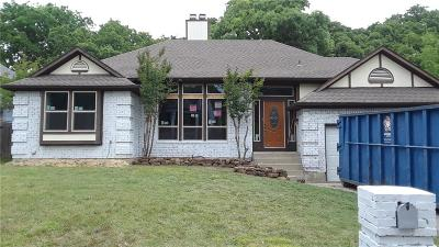 North Richland Hills Single Family Home Active Option Contract: 6833 Parkwood Drive