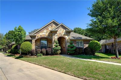 North Richland Hills Single Family Home Active Option Contract: 7921 Bella Court