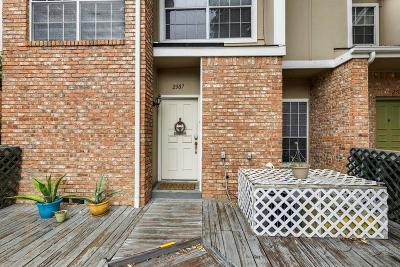 Irving Townhouse For Sale: 2307 Southlake Court