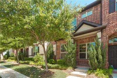 Irving Townhouse For Sale: 8764 Iron Horse Drive