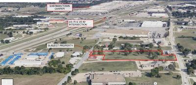 Grayson County Commercial Lots & Land For Sale: 748 E Lamberth